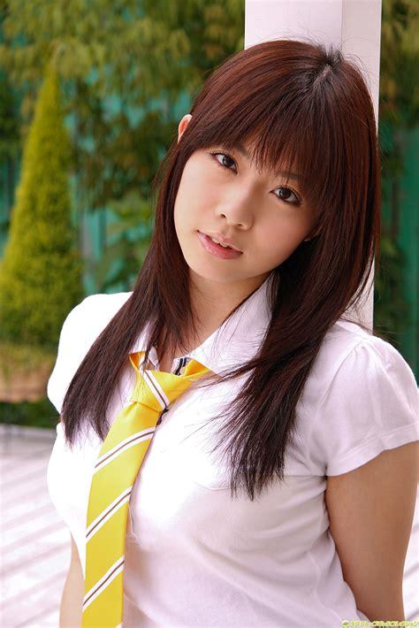 Mikuru Uchino Japanese Sexy Idol Sexy Japanese School Girl