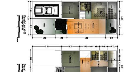 denah rumah sederhana ukuran  gambar rumah minimalis