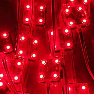 Super Nova 4 Led Module Red Backlight Leds For Cove Lights  Signs And Back Lights