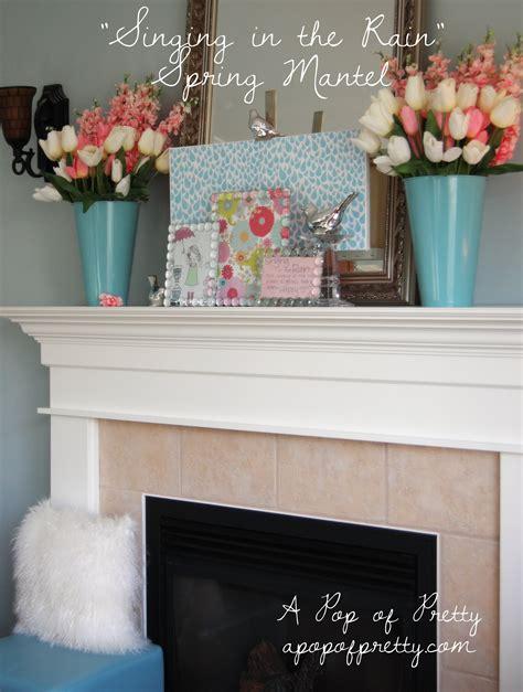 easter mantel decor spring easter mantel decor a pop of pretty blog canadian home decorating blog st john s