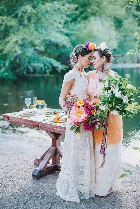 Frida Kahlo Wedding Inspiration Colorful Wedding 100