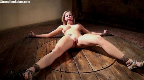 hot curvy slut is tied to wheel and abused xxx dessert picture 11