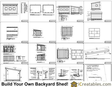 10x14 shed floor plans studio shed plans