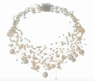 collier mariage perles de culture blanches With collier de perle mariage
