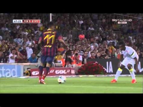 Барселона 8-0 Сантос ( Полный обзор матча 2.08.13 ) - Ruslar.online