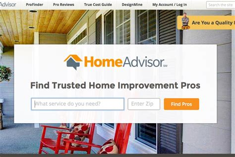 we talk to homeadvisor about their service to help you find home improvement pros