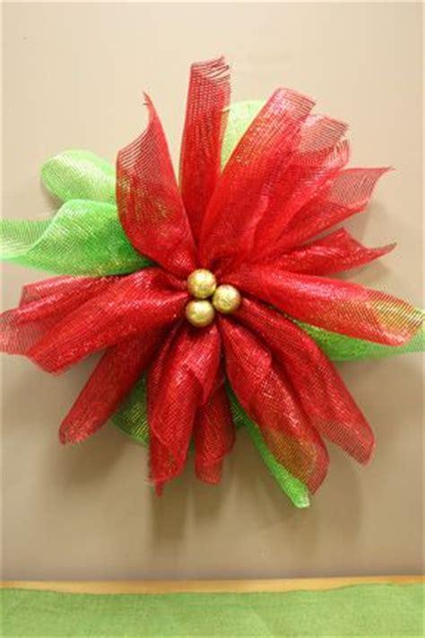 mesh poinsettia wreath wreaths poinsettia wreath