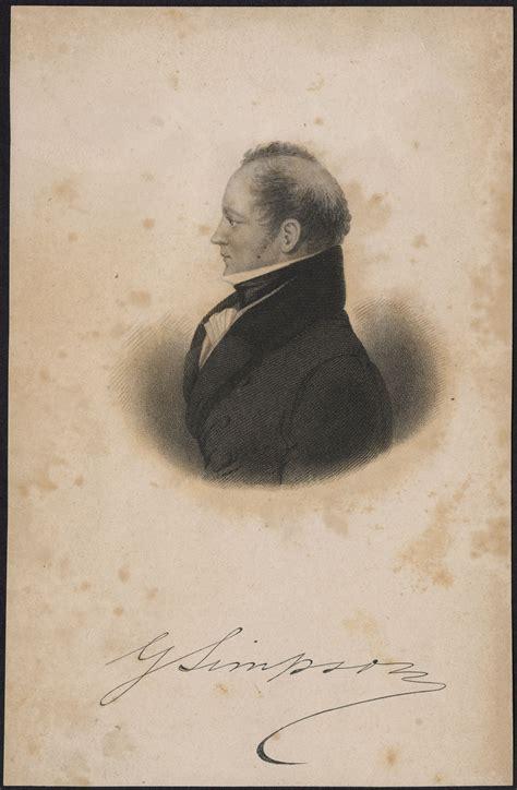 biography simpson sir george volume viii