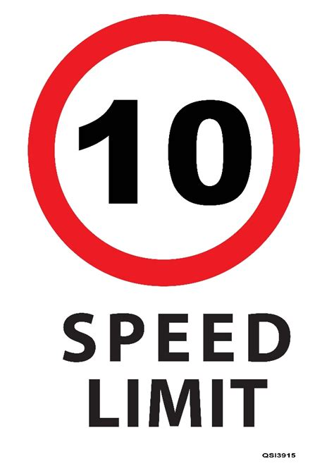 what is the standard size of a toilet 10kmph speed limit sign industrial signs
