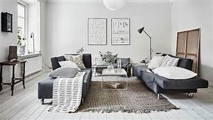 Deco Mural Salon : 5 d co de salons pour vous inspirer shake my blog ~ Teatrodelosmanantiales.com Idées de Décoration