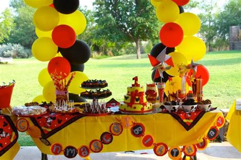 preparing 1st birthday party themes margusriga baby party mickey mouse 1st birthday party pictures future cars