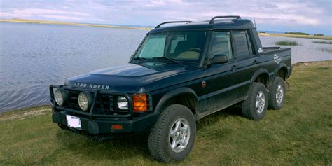 custom land rover custom land rover discovery 6x4 pickup on ebay motrolix