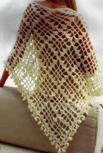 Simple Crochet Shawl