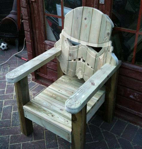 stormtrooper wood lawn chair crnchy
