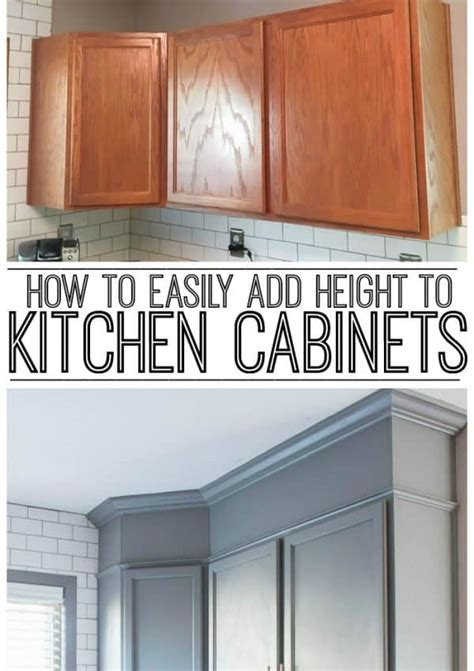 how to add height to kitchen cabinets do it yourself projects archives inspiration for 9281