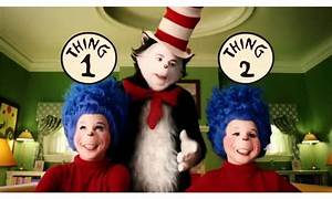 Dr Seuss' Cat In The Hat 2003 Movie Thing 1 And 2 Instant ...
