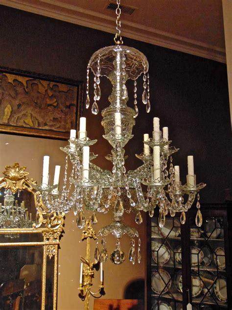 Period Chandeliers by Period 18th Century Georgian 16 Light Cut