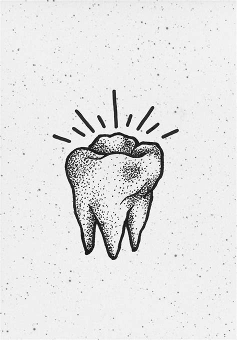 Pin by Supply Clinic on Dental Art | Tooth tattoo, Teeth drawing, Tattoo designs