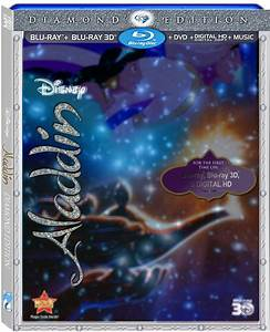 Aladdin: 20th Anniversary Diamond Edition Blu-ray - TBA ...