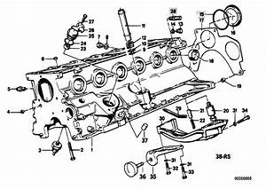 Original Parts For E34 520i M20 Sedan    Engine   Engine