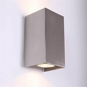 Wandleuchte Up Down : wandleuchte als up down strahler f r lichteffekte wohnlicht ~ Orissabook.com Haus und Dekorationen