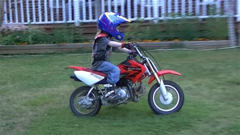 motocross bikes 50cc kid on dirt bike honda 50cc 6 years old youtube