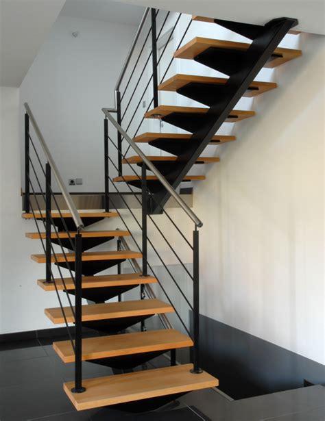 escalier exterieur limon central escalier 224 limon central en alsace schaffner