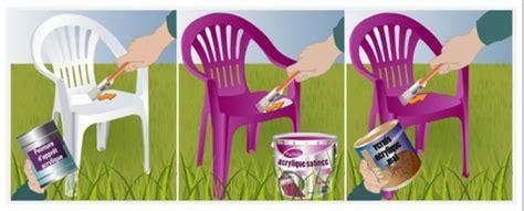peindre chaise de jardin en plastique comment peindre des chaises de jardin en plastique