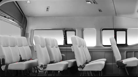 nissan urvan 2013 interior features