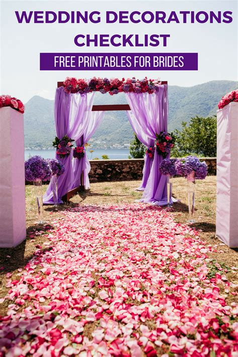 Wedding Decorations on a Budget: A Free Printable