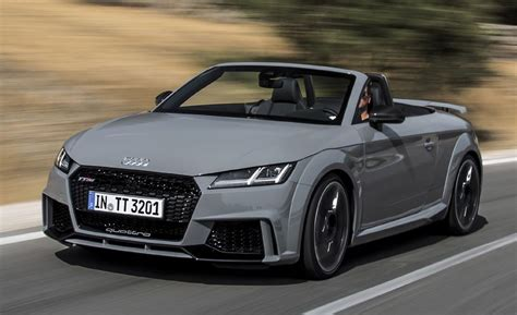First Drive 2018 Audi Tt Rs Roadster  Review  Car And