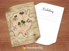 einladung schatzsuche zum piraten kindergeburtstag