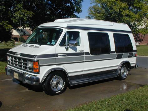 Dodge Ram Van Series Of Types Design Automobile
