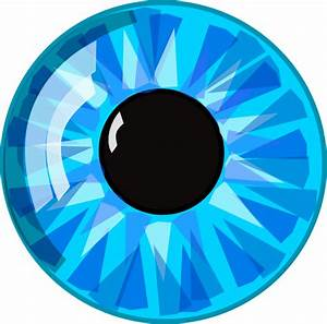 Cartoon Eye (bigger Scale) Clip Art at Clker.com - vector ...