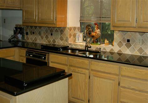 absolute black granite in a kitchen remodel