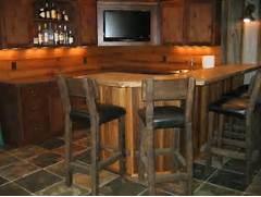 Rustic Home Bar Designs by Gallery For Rustic Basement Bar Ideas