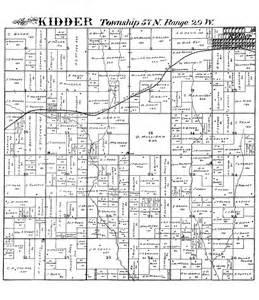 Caldwell County Missouri Plat Map