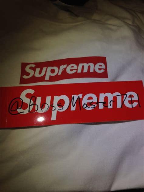 supreme  sopranos box logo tee  sale complex