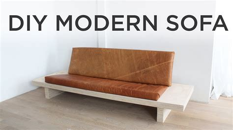 bed frame no box diy modern sofa how to a sofa out of plywood