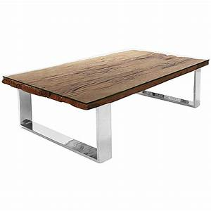 buck rustic lodge reclaimed wood glass steel coffee table With rustic wood and glass coffee table