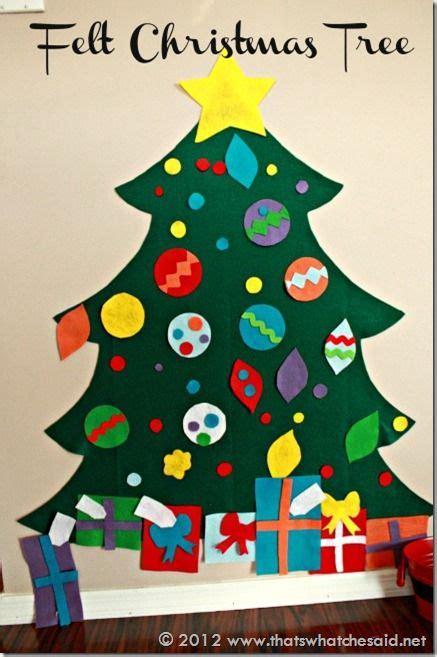 258 best felt christmas crafts images on pinterest