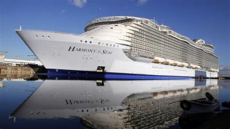 Biggest Passenger Ships In The World by World S Largest Cruise Ship Sets Sail In France Fox News