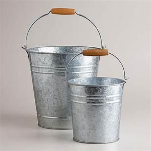 Metal, Multicolour, Galvanized, Buckets, Size, 4, Inch, Rs, 49, Piece