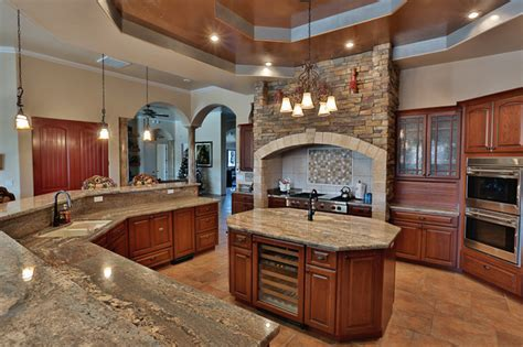 Crema Bordeaux Granite Counter Tops
