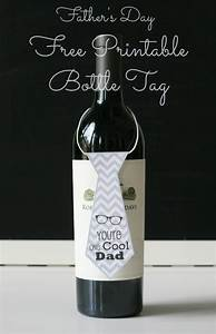 DIY Quick Easy Gift -Free Father's Day Printables Necktie