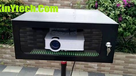 outdoor weatherproof projector enclosure waterproof