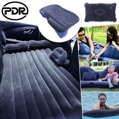 car air bed travel inflatable mattress  seat cushion camping bk outdoor sofa ebay