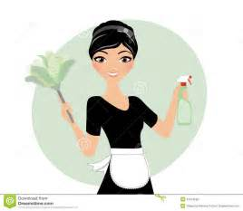 Cleaning Lady Maid Clip Art