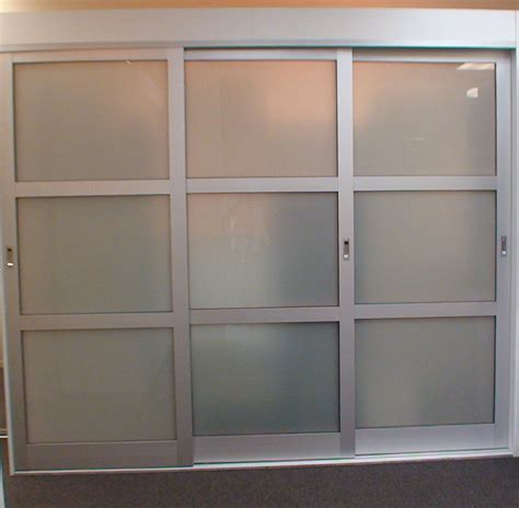 Triple Track Sliding Closet Doors