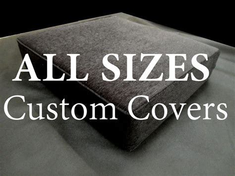 Sofa Seat Cushion Covers by Foam Cushion Replacement Sofa Seat Cover Only All Sizes